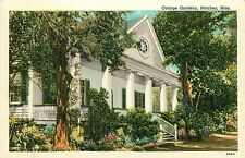 Mississippi, MS, Natchez, Cottage Gardens Linen Postcard