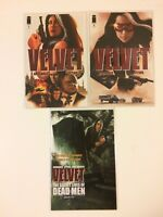 Lot of 3 Velvet #1 2 9 Image Comics (2013) 1st Prints VF/NM