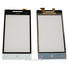 "Htc Windows Phone 8s White Digitizer Touch Screen Lens Glass Pad ""UK"" + tools"