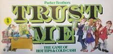 Trust Me, the Game of Hot Tips & Cold Cash 100% Complete Parker Brothers 1981