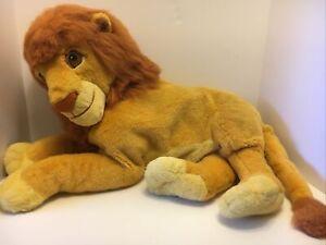 Vtg Large Stuffed Plush The Lion King Simba Mattel Arcotoys Walt Disney Company