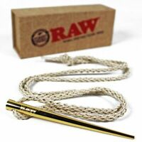 RAW Rolling Papers Gold Poker Pendant Collectors Item + RAW Products