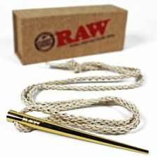 RAW Rolling Papers Gold Poker Pendant Collectors Item
