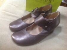 👡HOTTER UK Sz 5 Women's Concerto Bronze Leather Mary Jane Shoes-XMAS 🎉