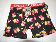 df7e8881ba7e Foodie Collection Fries Crazy boxer shorts underwear mens lounge M  cbfdd01fryy