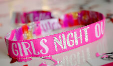 Hen Party Wristbands 'Girls Night Out' VIP Wristbands