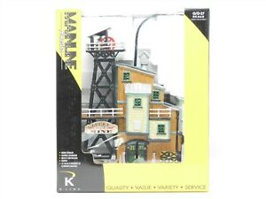 O Scale K-Line 43007 Lucky No. 7 Mine Building Structure w/ Lighting