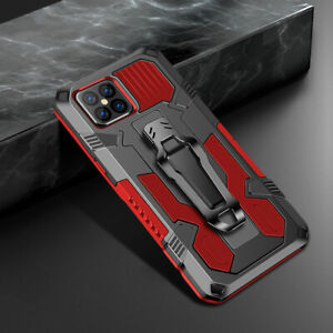 Shockproof Armor Rugged Kickstand Hybrid Hard Case Cover For Smart Cellphones