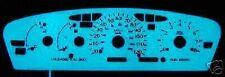 ELECTRO-LUMINESCENT GAUGE FACE KIT DODGE NEON 95-98 (GREEN/BLUE)