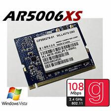 ATHEROS AR5006XS ABG doble banda 108 Mbps High Power Mini PCI tarjeta inalámbrica Wifi