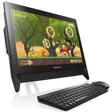 "Lenovo C20 All-in-One Desktop PC Pentium J3160 4GB RAM 1TB 19.5"" Black Win 10"