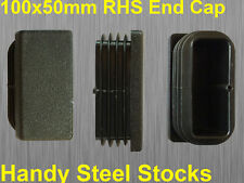 Fence Post Cap Square Tube End Quality Suits 100x50mm Tube RHS Pipe End Cap