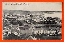 St Lukes District VINTAGE JERSEY POSTCARD