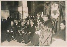 """PARIS c. 1930 - Église St Roch Cérémonie Souvenir """"Amiral de grasse"""" - PRM 254"""
