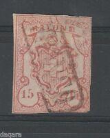 BB.54 - Switzerland, 1852, Zst # 19, Mi # 11