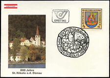 Austria 1981 St. Nikola-On-Danube FDC First Day Cover #C17725