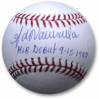 Fernando Valenzuela Signed Auto Baseball MLB Baseball MLB Debut 9-15-1980 JSA