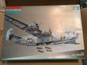 Monogram B-24J Liberator 1/48 Scale Model Kit 5608