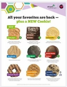 2020-21 GIRL SCOUT COOKIES READY TO SHIP 5 For $25