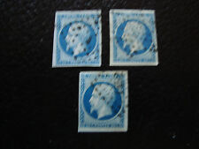 FRANCE - timbre yvert et tellier n° 14A x3 obl (A15) stamp french (R)