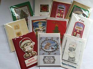 Single Handmade Christmas Cards In 60 Designs £1.09 Each