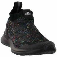 adidas Rapidarun Laceless (Little Kid/Big Kid)  Casual   Shoes Black Boys - Size
