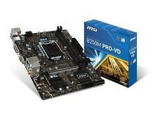 MSI Pro Series Intel B250 LGA 1151 DDR4 USB 3.1 micro-ATX Motherboard (B250M ...