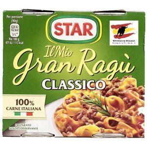 STAR GRAN RAGU CLASSICO 2 X 180G