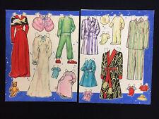 Vintage 1940s Blondie Original Artwork Art Paper Dolls Clothing Whitman Comic