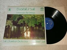 Dvorak - Serenades for Strings - Josef Suk    Vinyl  LP Supraphon