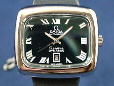 Vintage Retro Ladies Omega Dynamic Automatic Watch 1970s NOS Never Worn