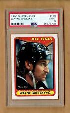 1990-91  OPC  Wayne Gretzky  #199   PSA 9
