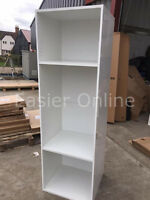 Kitchen Oven Housing Cabinet 600mm Standard Unit White Gloss w/ Salice Hinges!