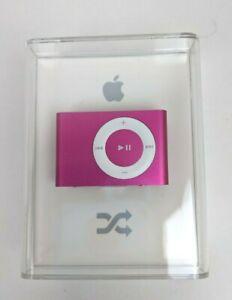 Pink Apple iPod Shuffle 2nd Generation 1GB Model A1204 MB811LL/A NEW