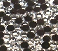 85 Hotfix Strasssteine 6mm SS30 CRYSTAL KLAR GLAS STRASS Bügelsteine BEST 52