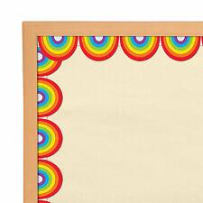 Rainbows Bulletin Board Borders - Educational - 12 Pieces