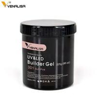 Venalisa Nail Art Gel Soak Off UV/LED No Wipe Top Coat Base Sticky Layer 30ml
