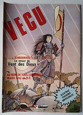 VECU n°12 de 1985; Samouraïs; le retour du vent des dieux