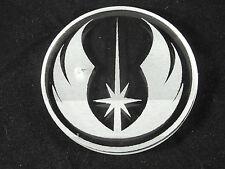 1 x Acrílico soporte de exhibición para Hasbro Star Wars 6 Pulgadas Black Series-Jedi Emblema
