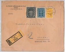 AUSTRIA: POSTAL HISTORY - NETTO # 407 on COVER to GREECE - INFLATION Period 1924