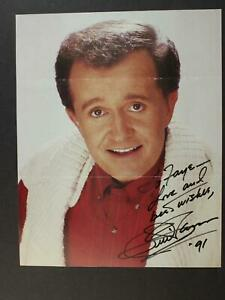 COUNTERY SINGER BILL ANDERSON AUTOGRAPH 8 x 10 PHOTO~