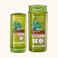 YVES ROCHER Shampoo 300ml and Balm 200ml Nutri-repairer set. NEW
