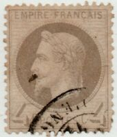 1863 FRANCIA IMPERO NAPOLEONE III° 4 CENT. ST.GIB.109 OTTIMA CENTRATURA USATO