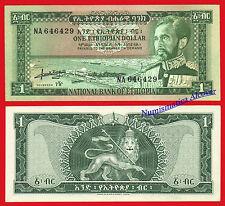 ETIOPIA ETHIOPIA 1 Dollar dolar 1966  Pick 25 SC /  UNC
