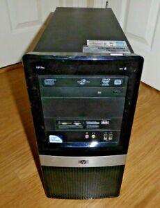 HP Pro 3010 MT PC Dual Core 2.7Ghz 4GB 320GB DVD RW Windows 10 Tower