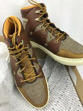 CREATIVE RECREATION SPERO  MEN'S FASHION SNEAKERS Brown Tweed high top 10M