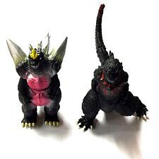 2 x Large Bandai Godzilla Action Figures Kids Boy Display Figurines Play Set Toy
