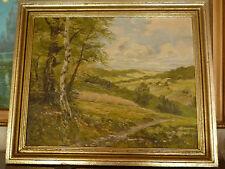 Künstlerische 1900-1949 Klassizismus-Malerei mit Landschafts- & Stadt-Motiv