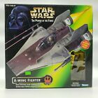 Star Wars Power of the Force A-Wing Fighter Figure Set Free Shipping