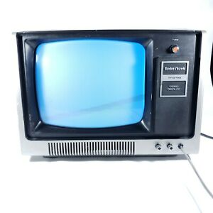 Vintage TRS-80 CRT Video Display RADIO SHACK Radioshack Monitor TESTED WORKING